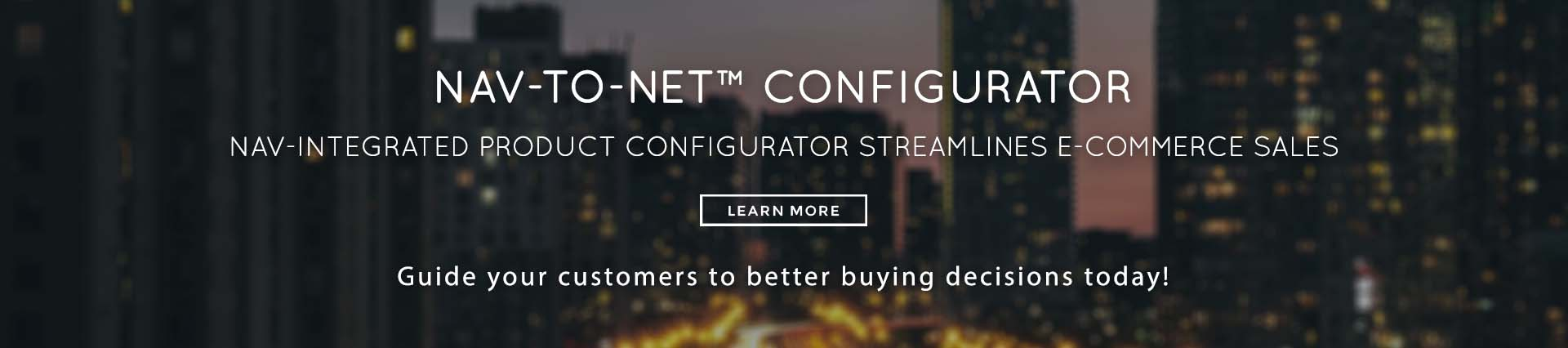 Nav-to-Net Configurator Feature