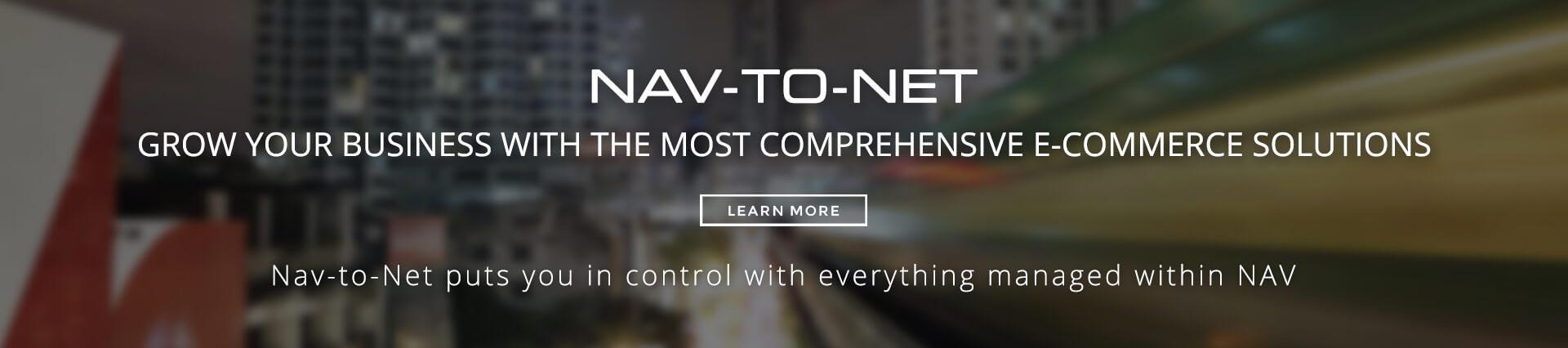 Nav-to-Net - e-Commerce Solution for Microsoft Dynamics NAV (Navision)