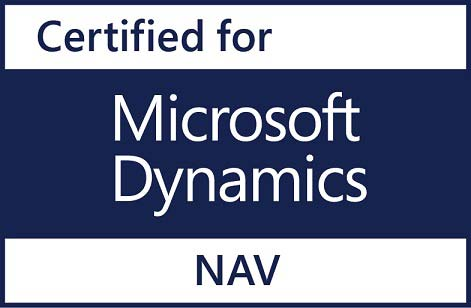 Certified for Microsoft Dynamics NAV 2016