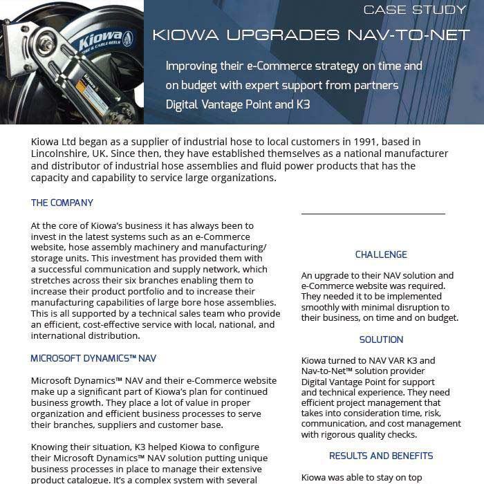Nav-to-Net Case Study - Kiowa